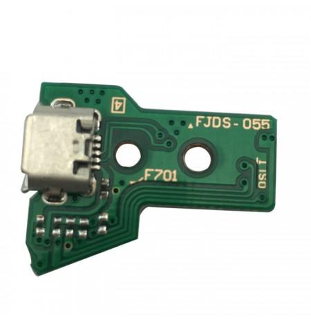 Dualshock 4 valdiklio krovimo lizdas JDS-055 (12 pin)
