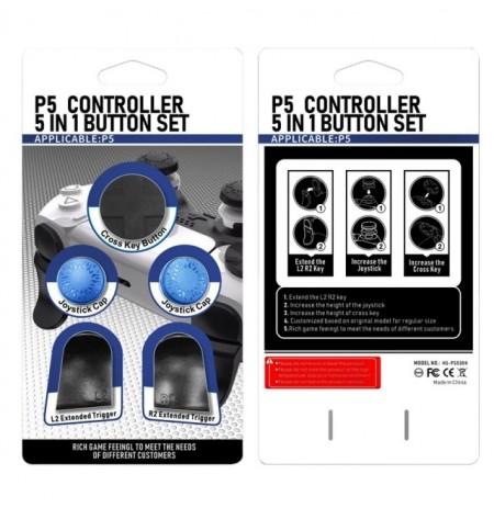 PlayStation 5 pultelio mygtukų rinkinys (Mėlyna)