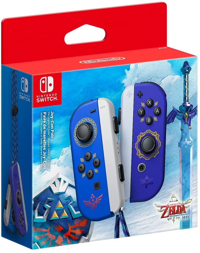 Nintendo Switch Joy-Con pair: The Legend of Zelda: Skyward Sword
