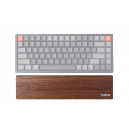 Keychron keyboard K2/K6 palm rest - Walnut brown | 317 x 80 x 15 mm