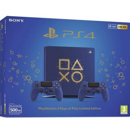 Žaidimų kompiuteris SONY PlayStation 4 (PS4) Slim 500GB - Days Of Play Bundle