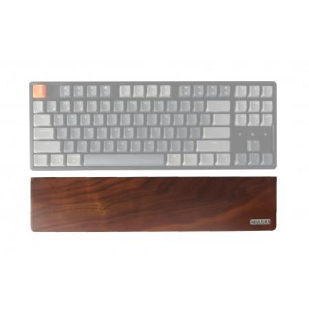 Keychron klaviatūros K8/C1 riešo atrama - rudo medžio | 358 x 80 x 15 mm