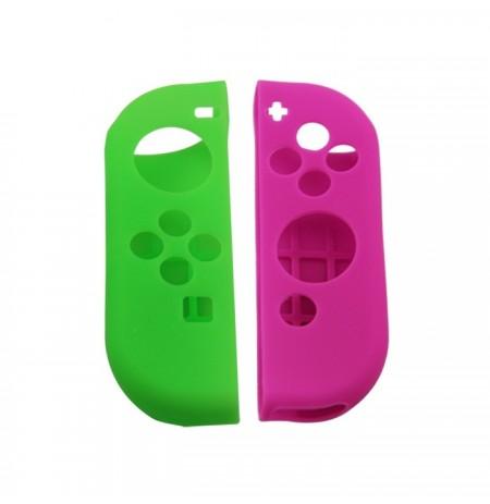 Nintendo Switch Joy Controller Silicon Case (green + purple)