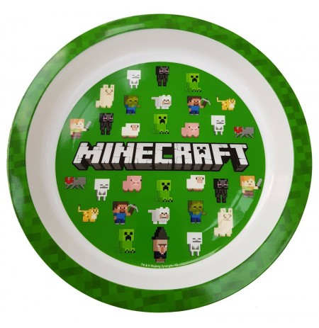 Minecraft Plastikinė Lėkštė