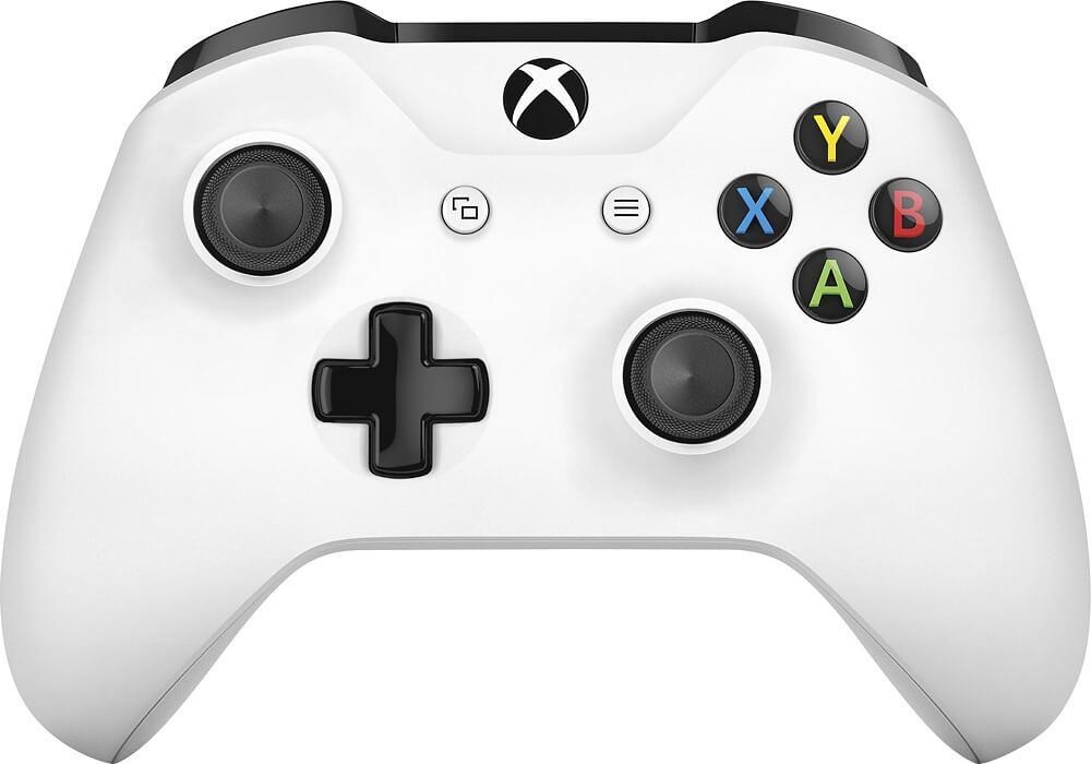 Xbox One belaidis valdiklis su 3.5mm jungtimi (WHITE)