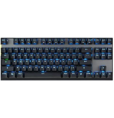 MOTOSPEED GK82 belaidė mechaninė klaviatūra su LED apšvietimu (US, RED switch)