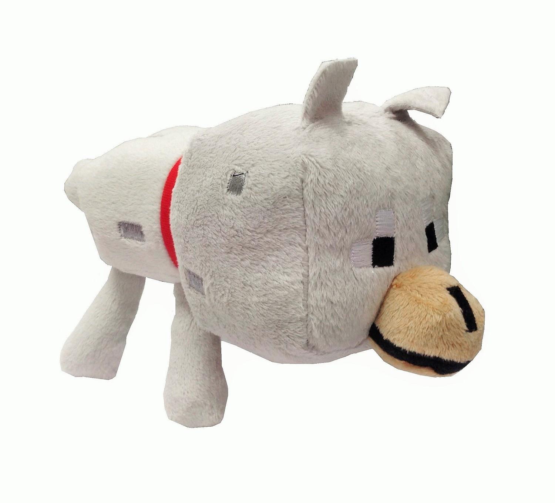Plush toy Minecraft Wolf  12-17cm