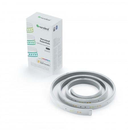 Nanoleaf Essentials Šviesos Juostų Papildymas (1m, 1600Lm, 30W, 2700K-6500K, 120V-240V)