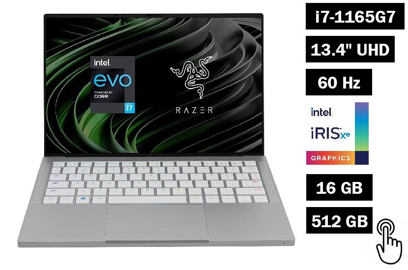 "Razer Book 13 UHD+ Touch   13.4"" UHD+  i7-1165G7 16Gb SSD 512Gb ENG"