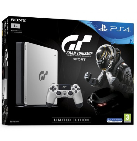 Sony PlayStation 4 Slim 1TB - Gran Turismo Sport Limited Edtion