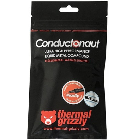 Thermal Grizzly Conductonaut Liquid Metal Thermal compound - 1g