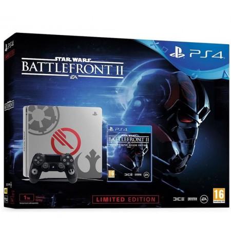 Žaidimų konsolė SONY PlayStation 4 (PS4) Slim 1TB - Star Wars Battlefront II Elite Trooper Deluxe Edition