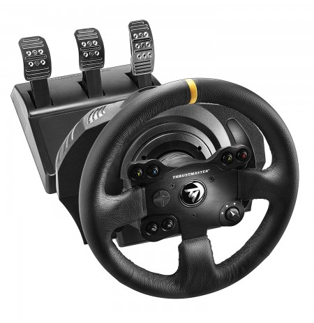 Thrustmaster Racing Wheel and Pedals TX Leather Edition for Xbox One, Xbox Series and PC