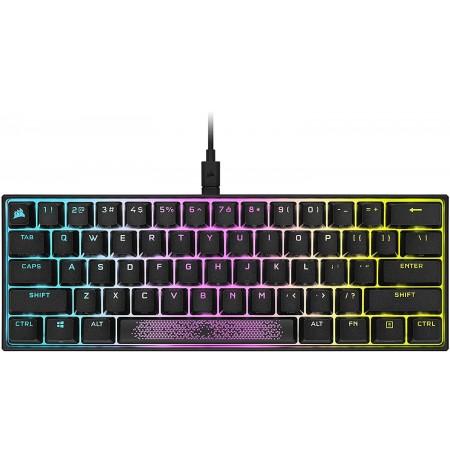 Corsair K65 RGB Mini Mechaninė Klaviatūra | US, Red Switch