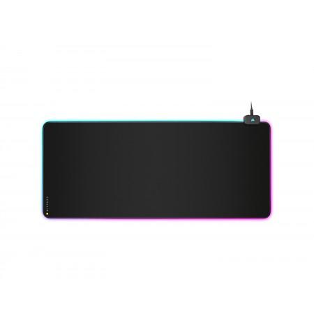 Corsair MM700 RGB  Juodas Padidintas Pelės Kilimėlis | 930x400mm