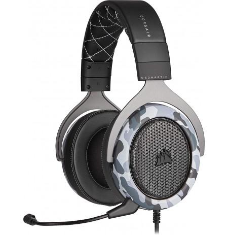 Corsair Stereo HS60 HAPTIC Laidinės Ausinės su Mikrofonu (Juodos/Pilkos)