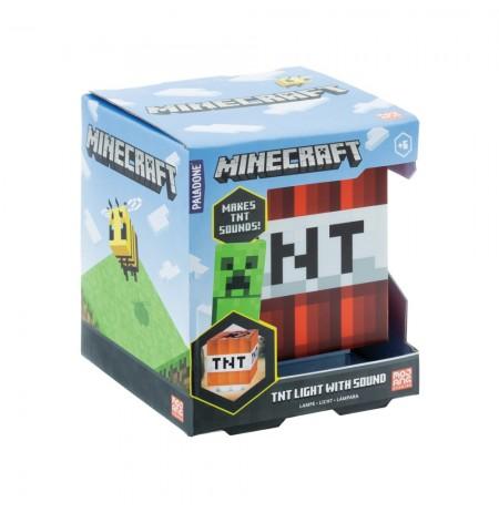 Minecraft TNT Lempa su Garsu
