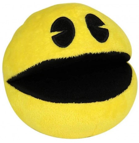 Pac-Man Plush Toy With Official Game Sounds - 20cm
