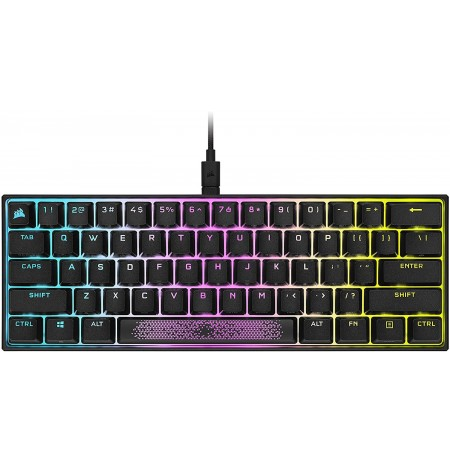 Corsair K65 RGB Mini Mechaninė Klaviatūra | US, Speed Switch