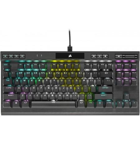 Corsair K70 RGB TKL CHAMPION SERIES Mechaninė Klaviatūra   US, Red Switch