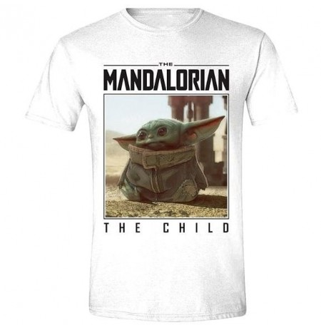 The Mandalorian - The Child Photo Men T-Shirt | X-Large