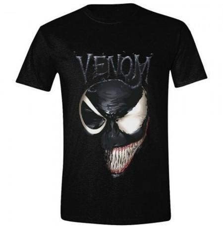 Venom - Venom 2 Faced Men T-Shirt | Black | Large