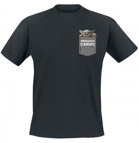 The Mandalorian - The Child Pocket Men T-Shirt | Large