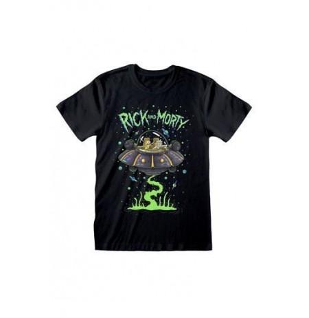 Rick and Morty - Space Cruiser marškinėliai | XL Dydis