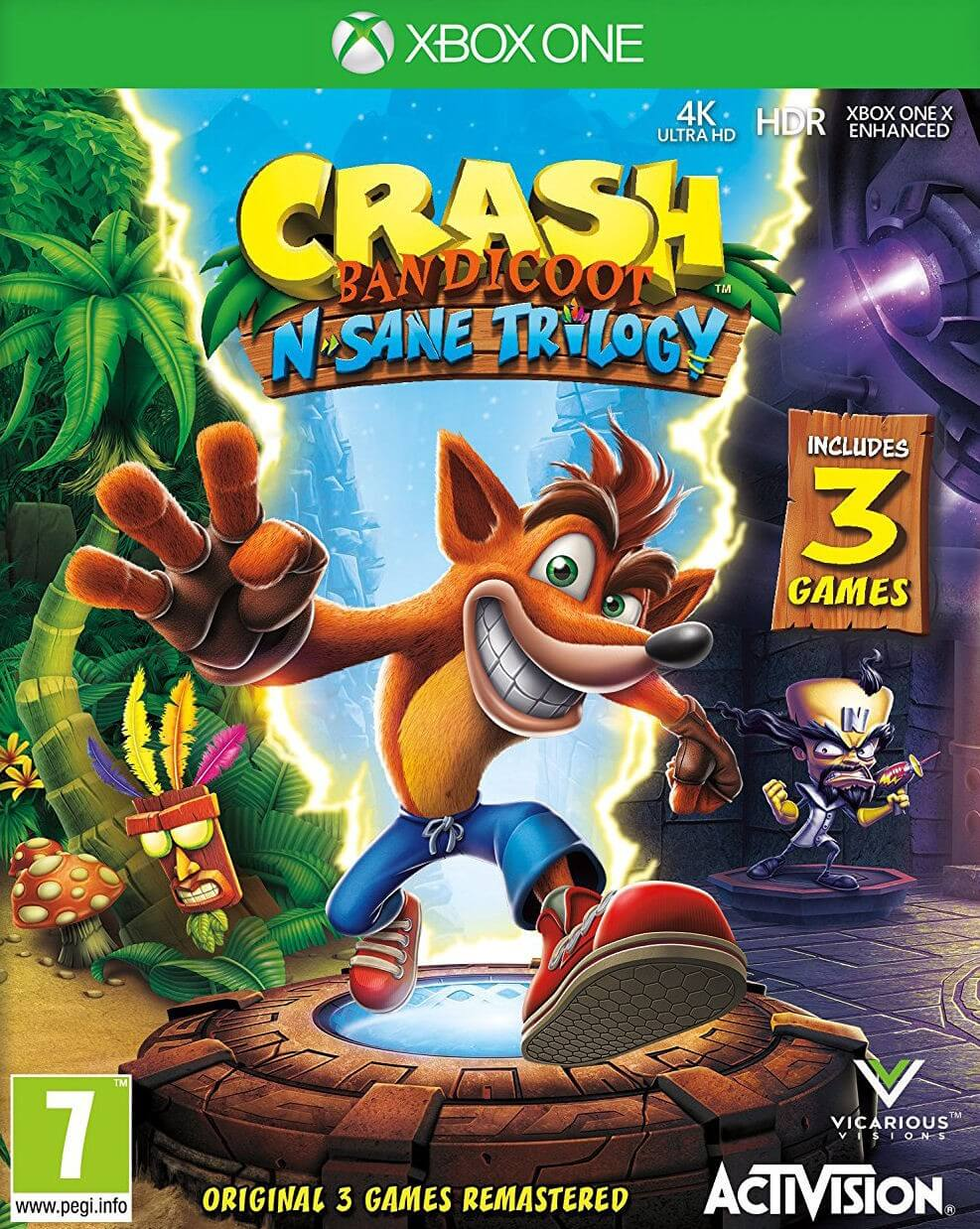 Crash Bandicoot N. Sane Trilogy XBOX