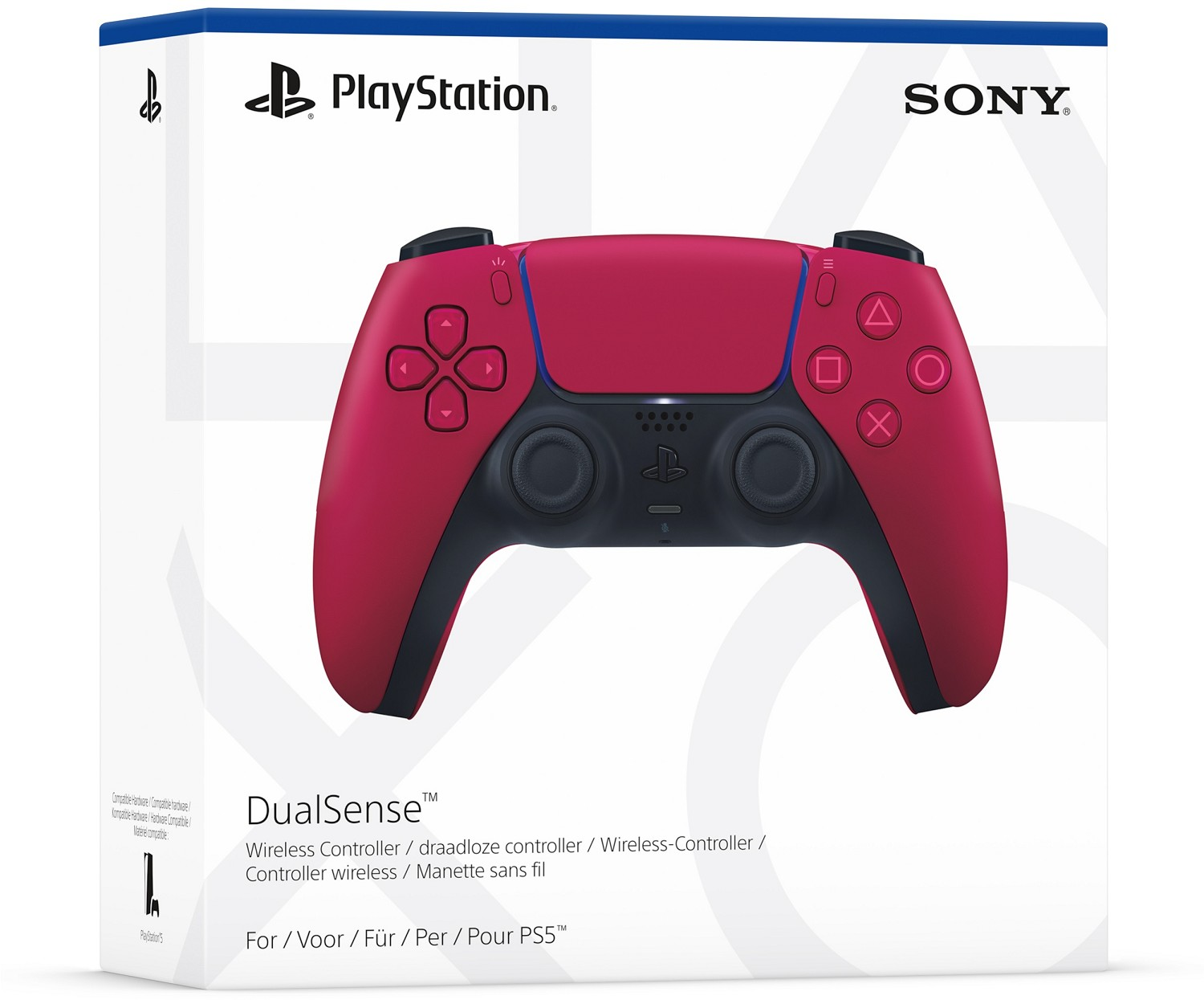 Sony PlayStation DualSense Cosmic Red wireless controller (PS5)