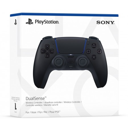Sony PlayStation DualSense Midnight Black wireless controller (PS5)