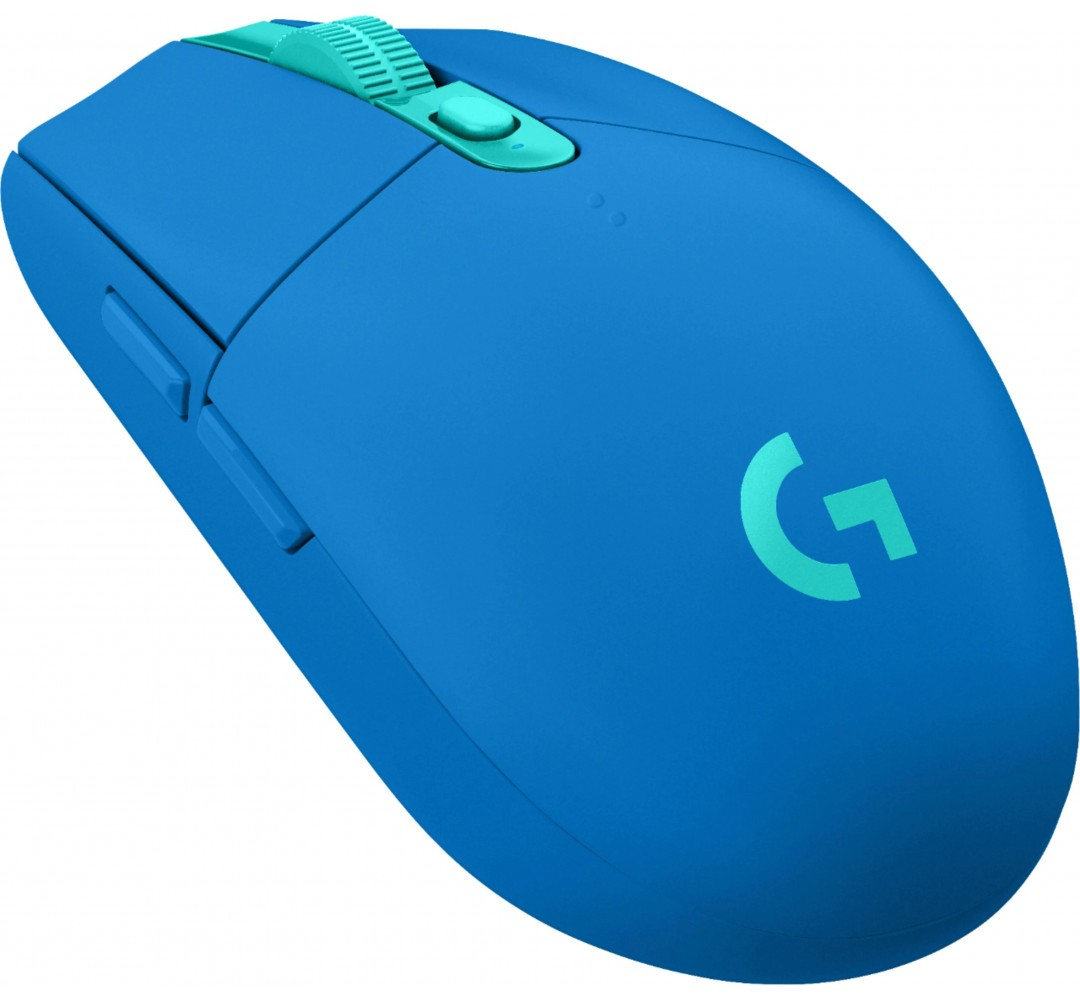 LOGITECH G305 LIGHTSPEED belaidė pelė (mėlyna) 12000 DPI