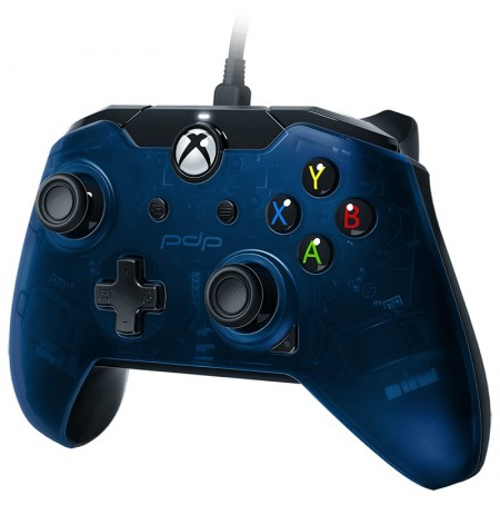 PDP wired joystick (Blue)   Xbox Series X S, Xbox One, and Windows10 (Blue)