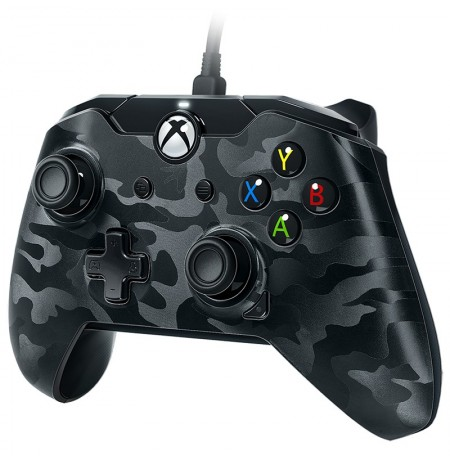 PDP Wired Controller  | Xbox Series X|S, Xbox One, Windows10 (Black Camo)