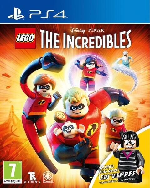 LEGO The Incredibles Mini Figure Edition PS4
