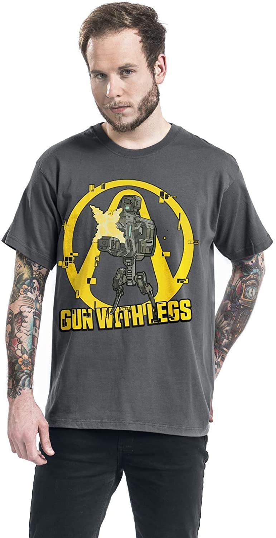 BORDERLANDS 3 THE GUN  WITH LEG T-SHIRT