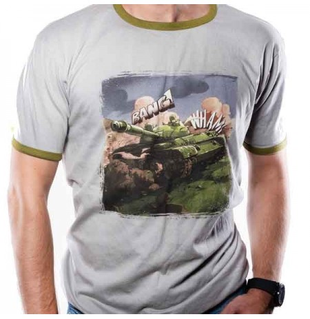 World of Tanks - Comic Tank T-Shirt | Medium