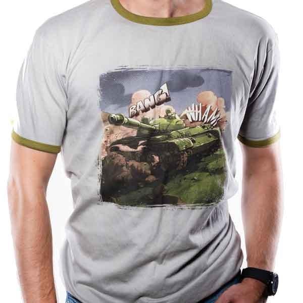 World of Tanks - Comic Tank marškinėliai | L Dydis