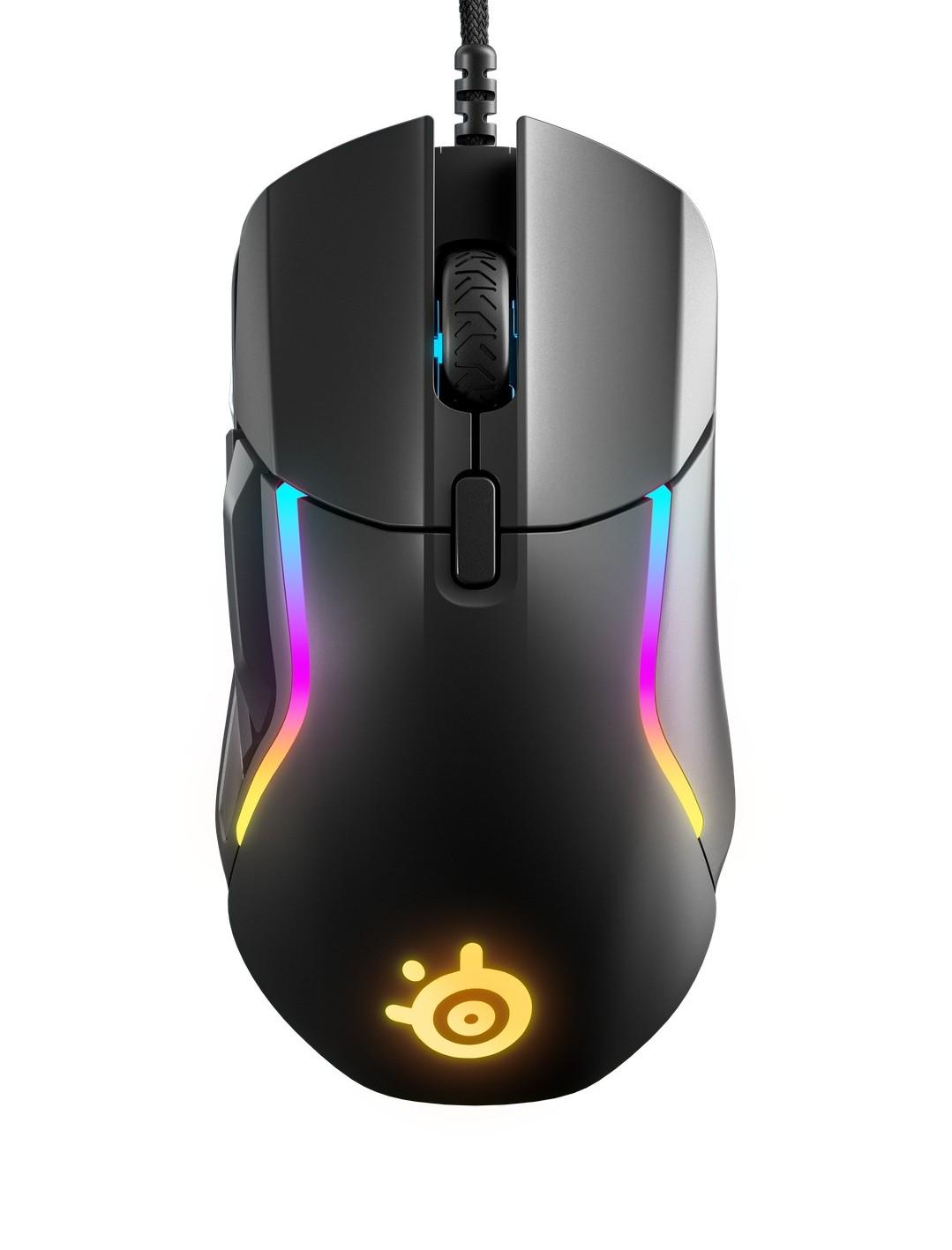 SteelSeries Rival 5 juoda laidinė optinė pelė | 18000 CPI