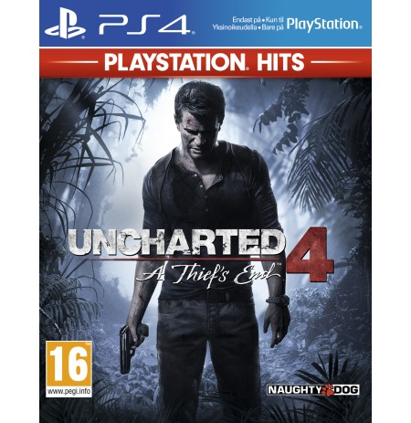 Uncharted 4: A Thief's End - PlayStation Hits