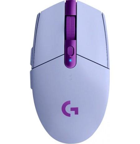 LOGITECH G305 LIGHTSPEED belaidė pelė (alyvinė) 12000 DPI