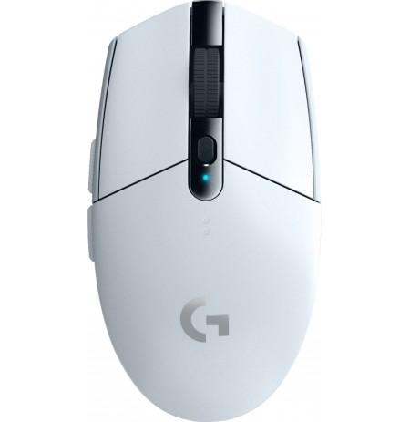 LOGITECH G305 LIGHTSPEED belaidė pelė (balta) 12000 DPI