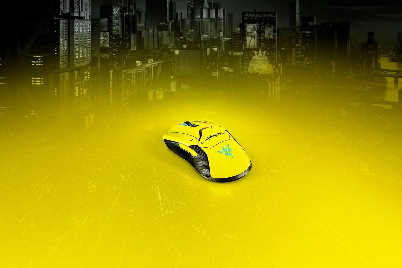 Razer Viper Ultimate Cyberpunk 2077 Edition bevielė optinė pelė + DOCK | 20000 DPI