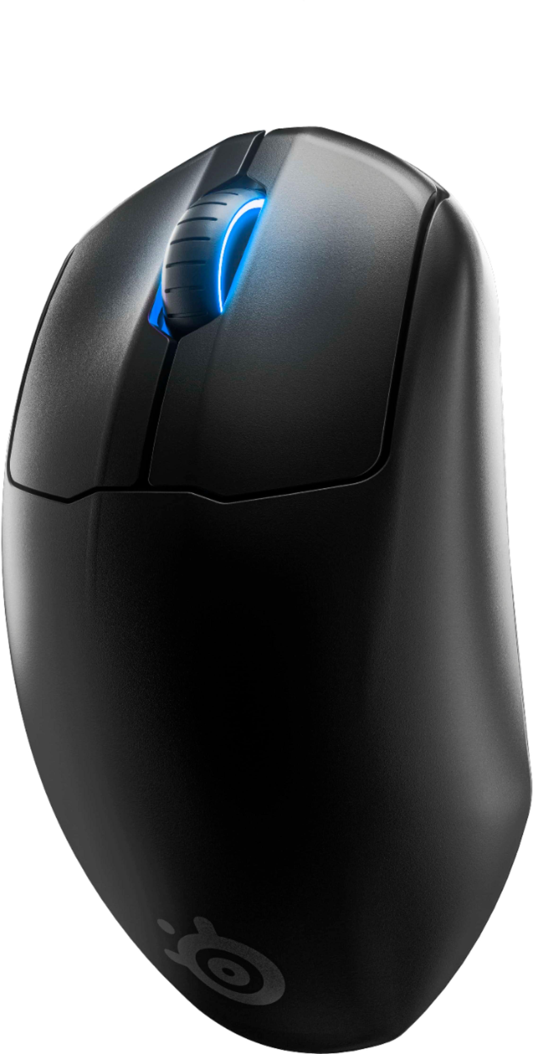 SteelSeries Prime Wireless juoda laidinė optinė-magnetinė pelė   18000 CPI