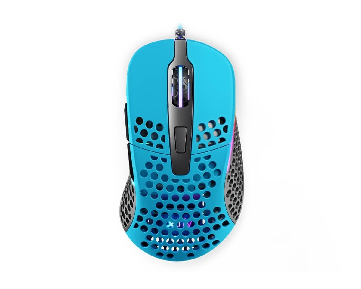Xtrfy M4 Miami Blue Optinė Laidinė Pelė | 16000 CPI