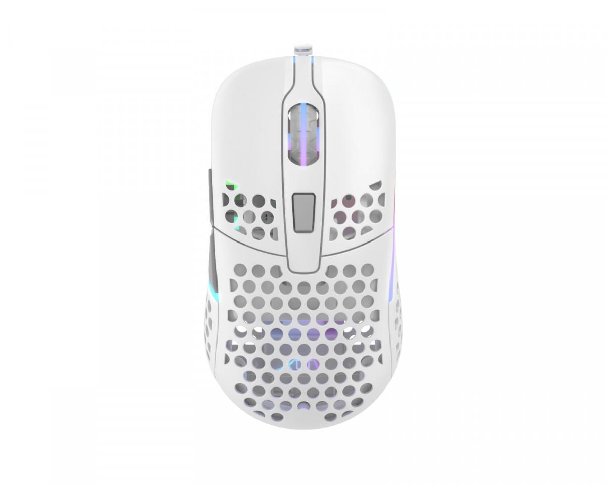 Xtrfy M42 Balta Optinė Laidinė Pelė | 16000 CPI
