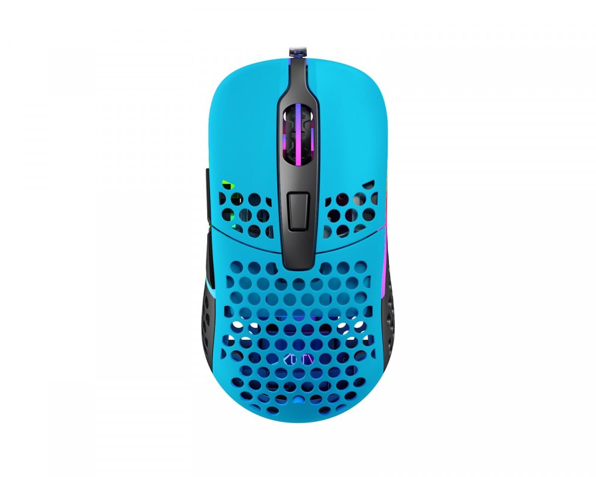 Xtrfy M42 Miami Blue Optinė Laidinė Pelė | 16000 CPI