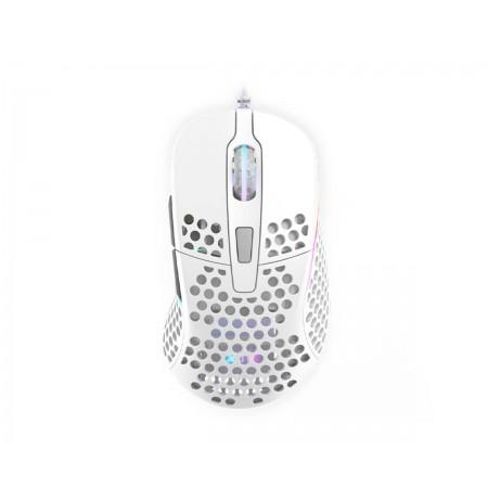 Xtrfy M4 Balta Optinė Laidinė Pelė | 16000 CPI