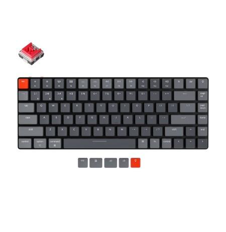 Keychron K3 Mechanical 75% Keyboard (Wireless, RGB, Hot-swap, US, Keychron Optical Red)