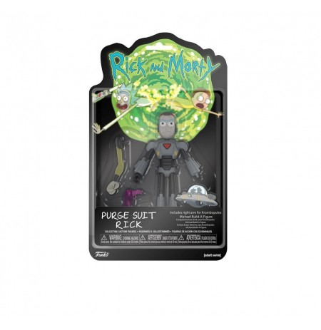 Funko Rick and Morty Purge Suit Rick Action Figure